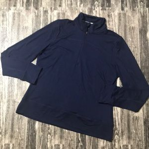 Navy Puma Golf athletic shirt